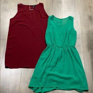 2 x dresses